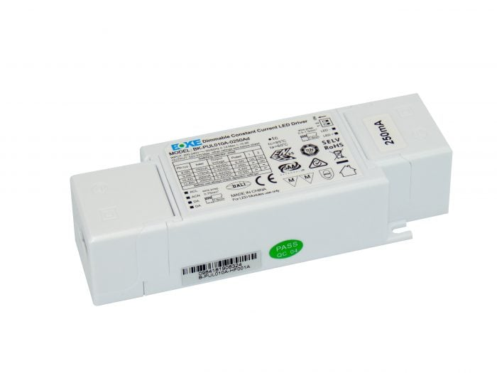 10W Constant Current DALI Dimmable LED Driver (150mA – 250mA)