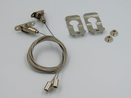 1.5 m Lineært LED-ophæng og overflademonteringssæt (STL137 og STL130)