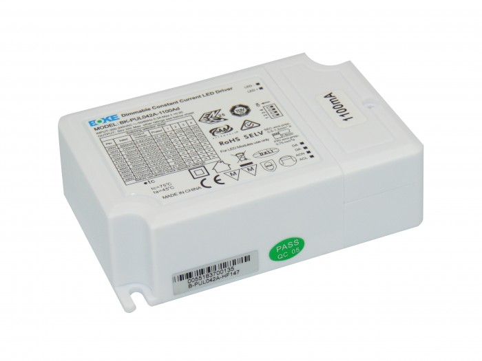 42W Constant Current DALI Dimmable LED Driver (650mA – 1100mA)