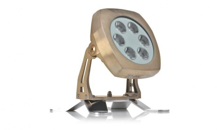 Submersible Underwater LED Lighting ArcSource 24MC RGBW