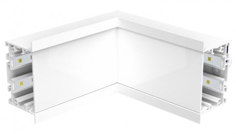 STL288 Angle intérieur encastré linéaire modulaire à DEL