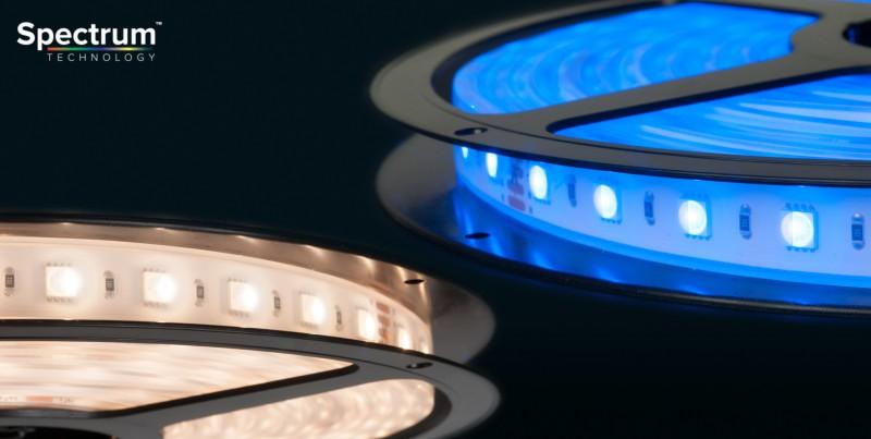 Flex Spectrum Rgbw Led Strip Tape Lighting Cri 80 740 Lm M Acclaim
