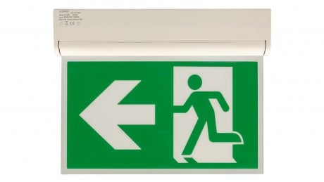 LED Emergency Exit Sign With Test Function