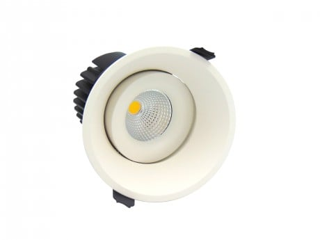15W Pro AG2 Low Glare Tiltable LED Downlight (Adjustable)