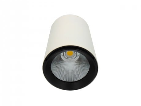 25W LED Surface Mounted Spotlight (Polestar) Black or White