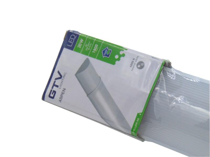 Slim LED Batten Light Fitting 2ft - 600mm, 4ft - 1200mm & 5ft - 1500mm (GTV  Aspen)