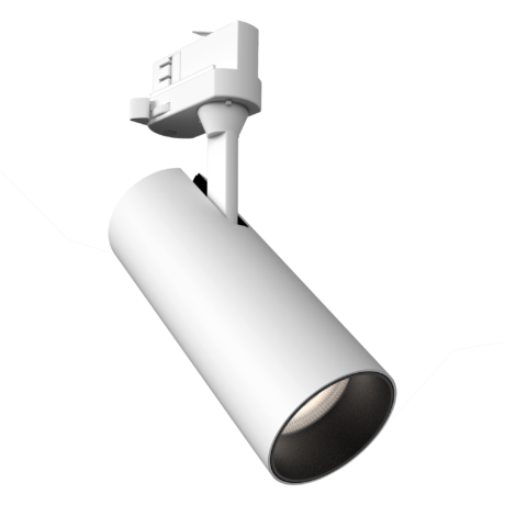 12W Dimmable Tubular60 LED Track Spotlight