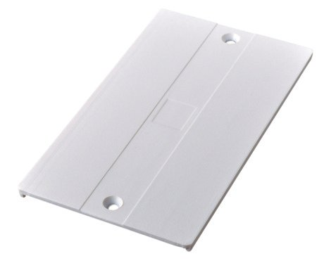 Connector Cover for Recessed LED Track Middle Feed (Powergear™)