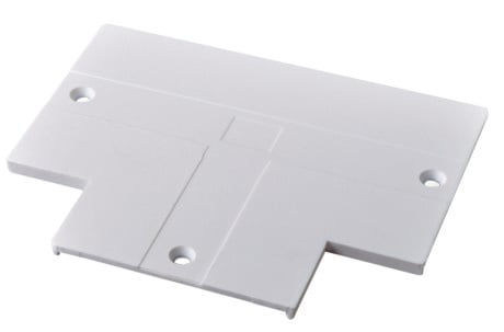 Cover for Recessed LED Track T Connector (Powergear™)