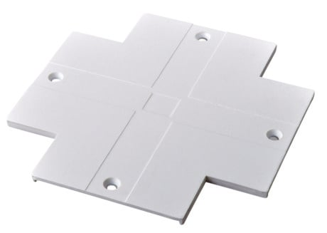Cover for Recessed LED Track X Connector (Powergear™)