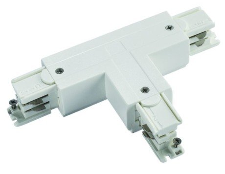 Track Lighting 3 Circuit T Connector (Twisted) –  Powergear™ PRO-M436