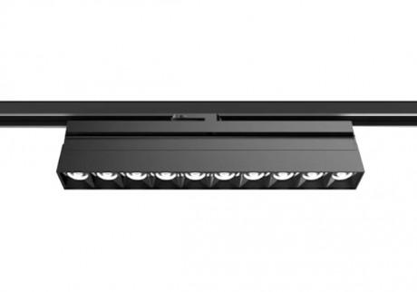 TLS LED Track Lineær lysmontering i sort eller hvid, CRI> 90, 3000 K eller 4000 K.