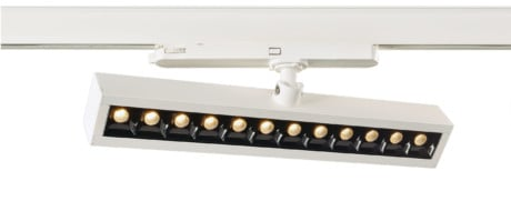 NLO LED Track Linear Wall Washer Light, CRI >80, 3000K or 4000K (DALI Optional)