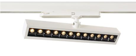 NLO LED Track Lineær vægvaskerlampe, CRI> 80, 3000 K eller 4000 K (DALI valgfri)