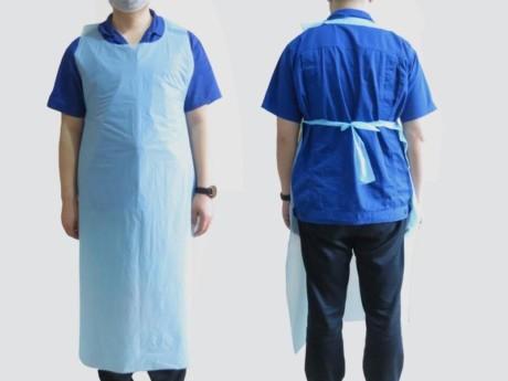 100,000 x Medical Grade Disposable Aprons EN20811 Fluid Resistant