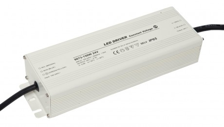 150W 24V Constant Voltage LED Driver For LED Strip Lights