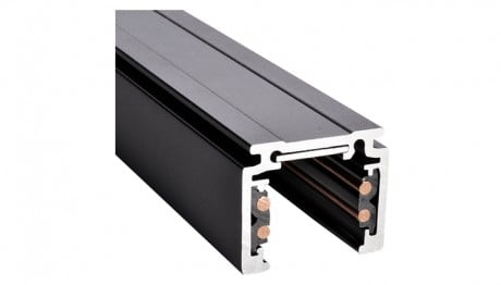 48 V Lighting Track Surface Black 1 m, 2 m - Powergear ™ PRO-N110 / N120