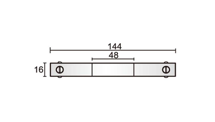 48V Track Coupler Dimensions