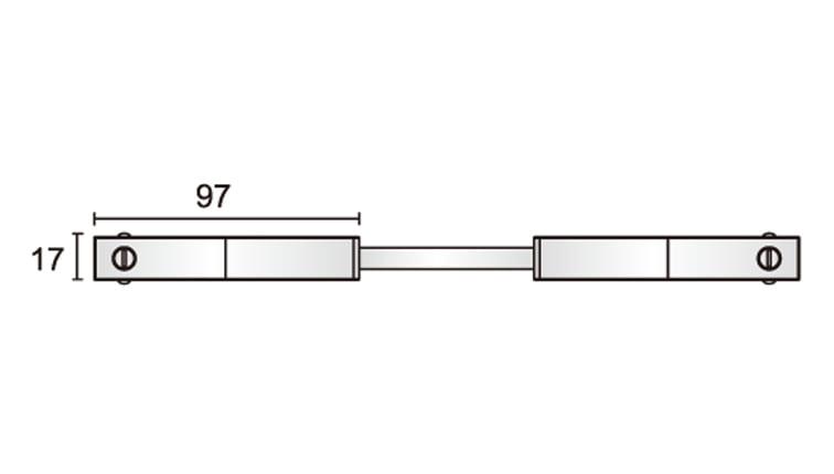 48V Track Flexible Connector Dimensions