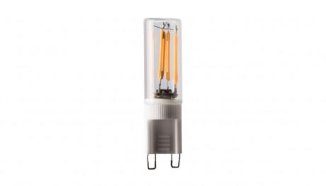 G9 LED en verre transparent à intensité variable - 2 W blanc chaud (2200 K) CRI><noscript><img src=