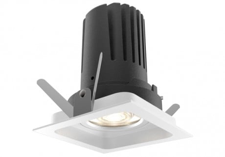 9W View 50 Adjustable Square LED Downlight