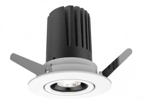 9W View 50 Adjustable Recessed LED Downlights