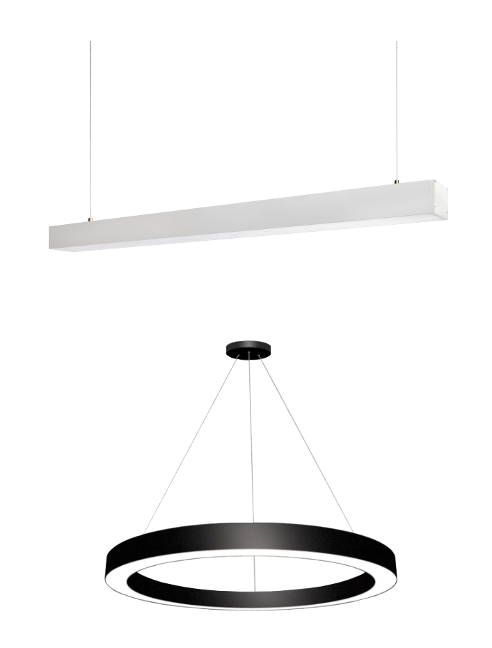 WHAT IS SUSPENDED LINEAR LIGHTING?