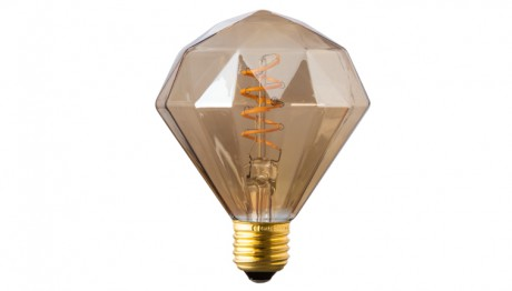 Diamond Filament Bulb
