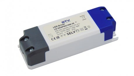 16W 12V Constant Voltage LED Driver For LED Strip Lights