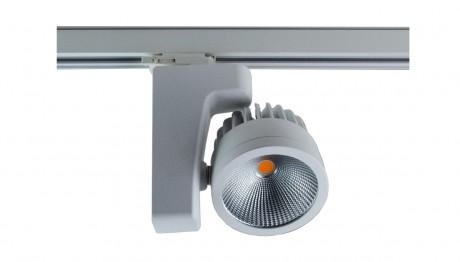 RIGA Commercial LED Track Light (Wattage: 20W, 30W, 42W – Finish: Black, White)
