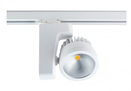 RIGA Commercial LED Track Light (Wattage: 20W, 30W, 42W – Finish: Black, White)