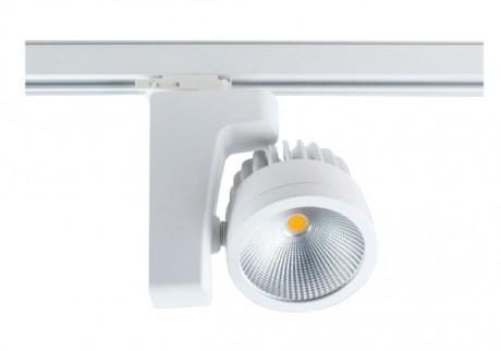RIGA kommercielt LED-sporlys (Wattage: 20 W, 30 W, 42 W - Finish: Sort, Hvid)