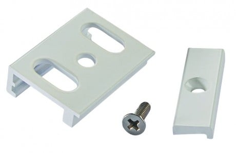 3 Circuit Lighting Track Surface Mounting Brackets (Pack of 4) - Powergear ™ PRO- 04 SK